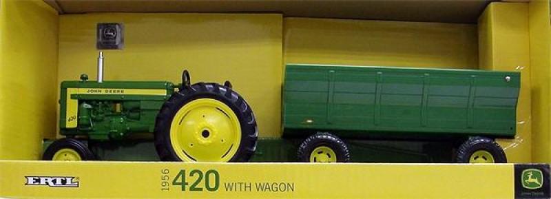 ERT15786 ERTL - John Deere 420 Tractor