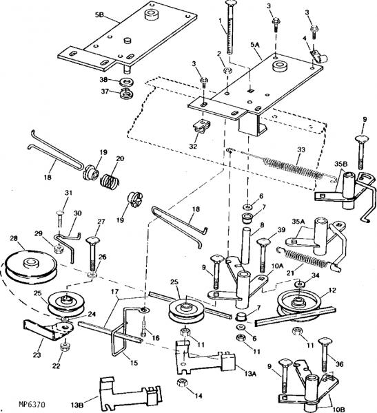 john deere l108 engine diagram