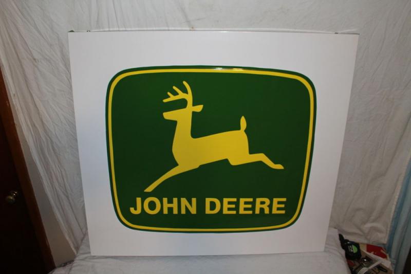 Vintage john deere sign