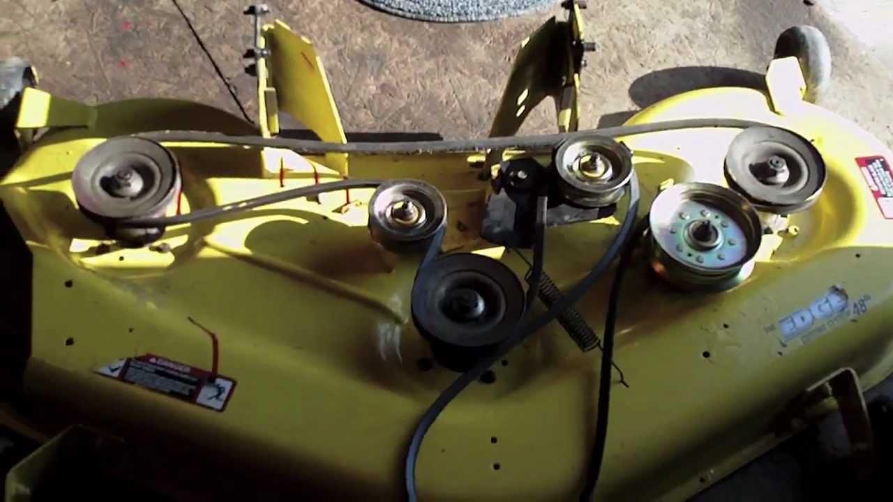John Deere Deck Drive Belt For L100 Series With 48 D160 Wiring Diagram Mower Ebay