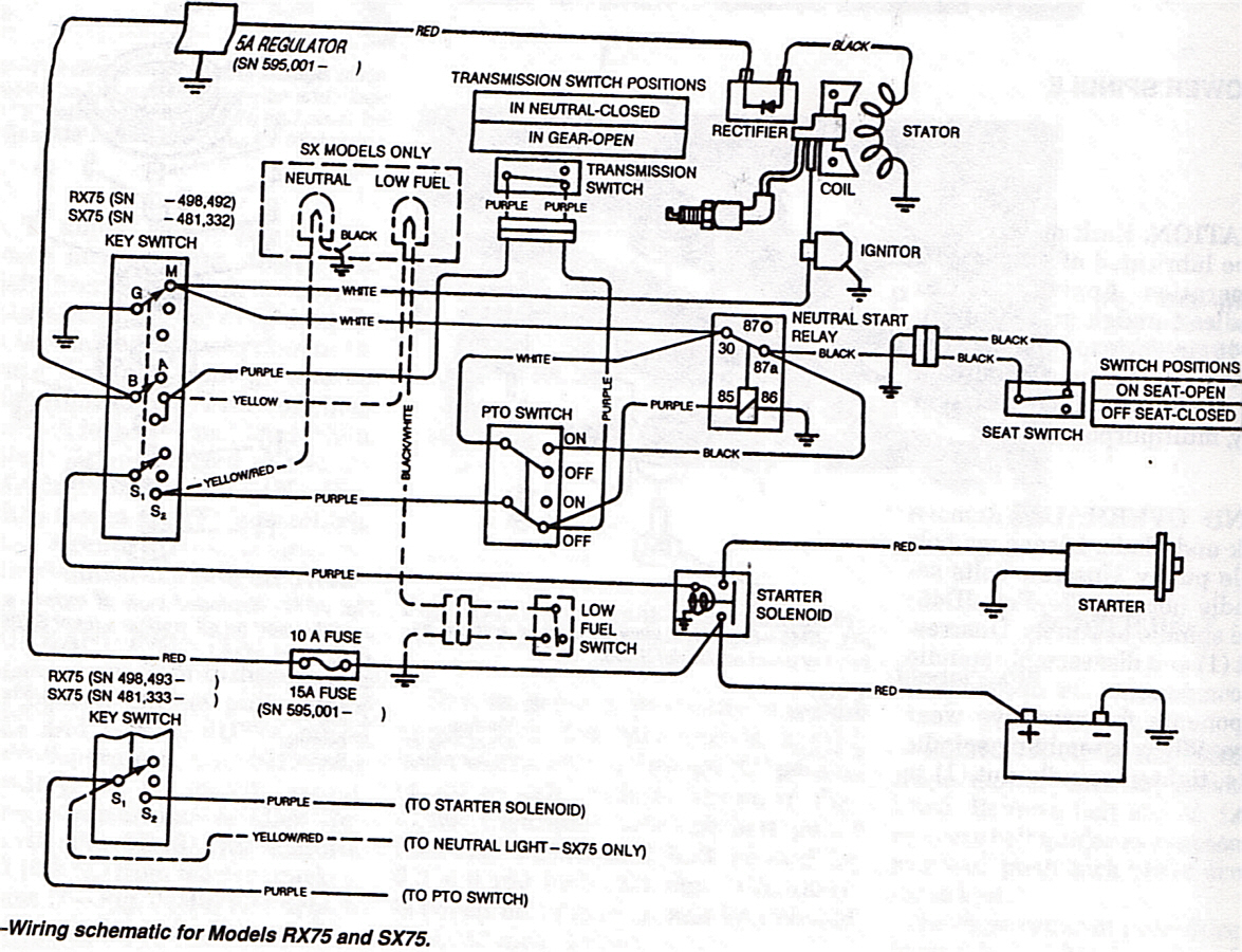 John Deere 1020 Tractor Wiring Diagram 38 Images Ignition Bingimages 182219 Switch For Sx85 Series