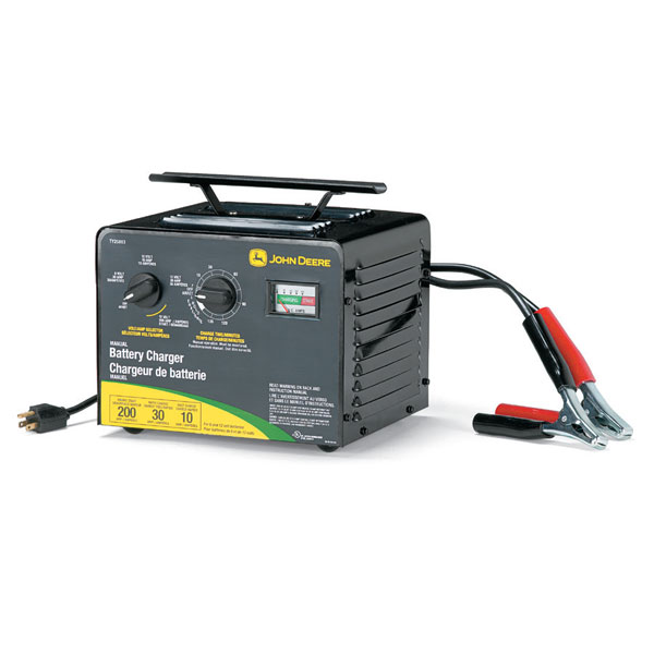 John Deere Battery Charger For Js Series Replacement
