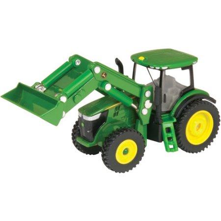 Tomy - 1/64 John Deere 7230r Tractor Wit - Walmart.com