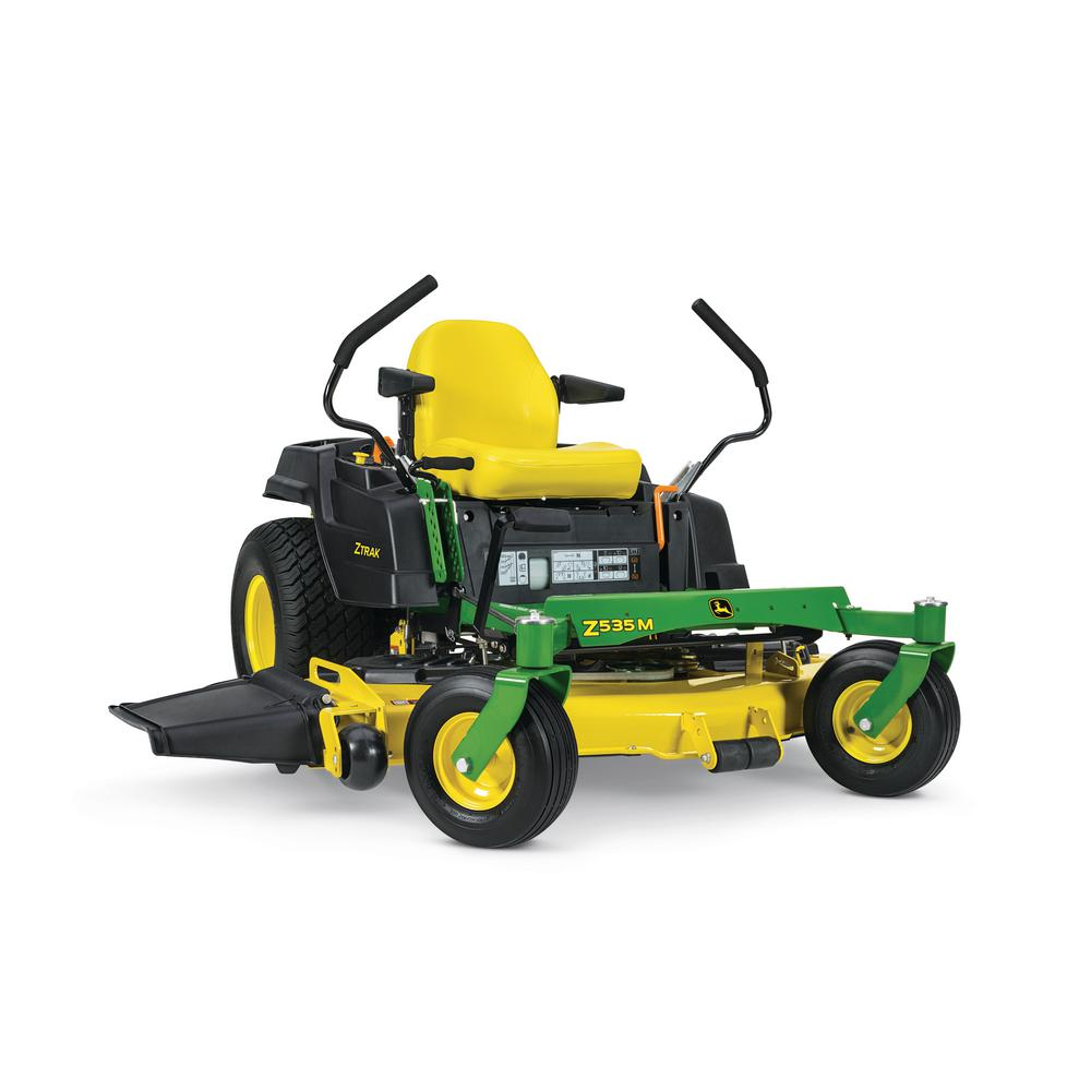 John Deere Z535M 62 in. 25 HP Dual -Hydrostatic Gas Zero-Turn Riding ...