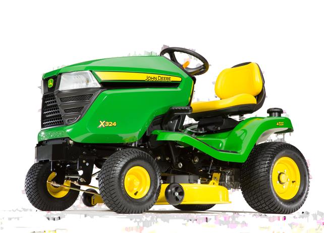 john deere x300 series lawn tractors