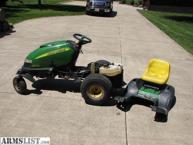 john deere sst lawn tractors
