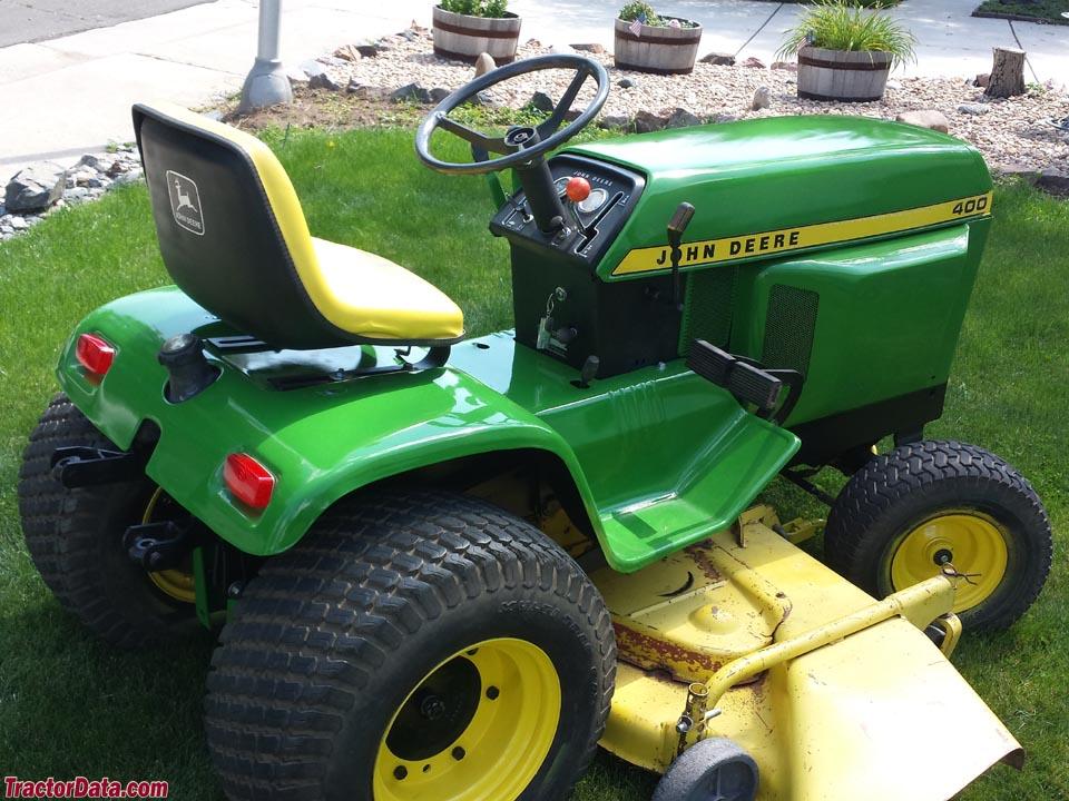 john deere 400 tractor photos information