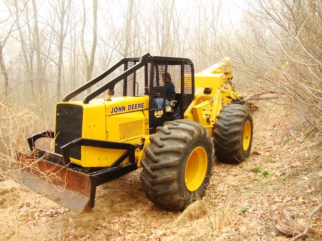 john deere 740 loader manual