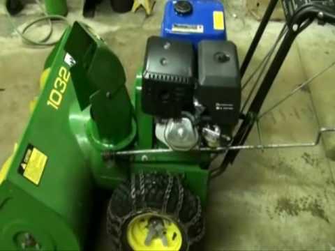 John Deere 826d Snowblower Electric Start Parts John Tractor – John Deere Snow Blower Engine Diagram