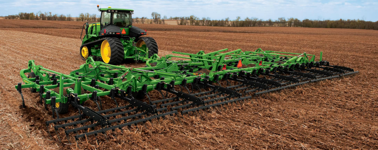 john deere primary tillage