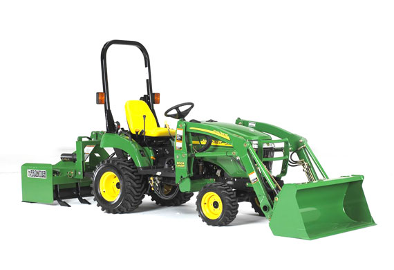 Tractor news and pictures: John Deere 2000 Series