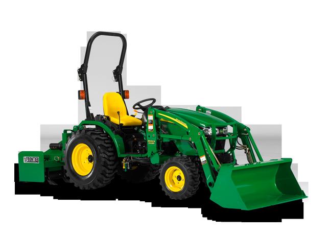 John Deere 2520 2020 2000 Series Compact Utility Tractors