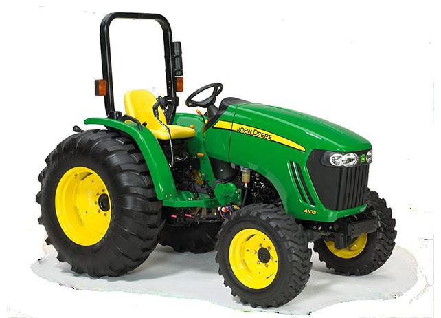 john deere 4000 ten compact series tractors