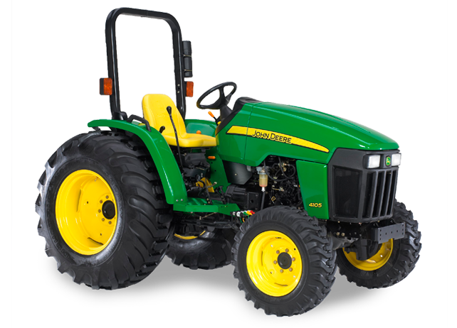 John Deere 4105 Compact Utility Tractor 4000 Series ...