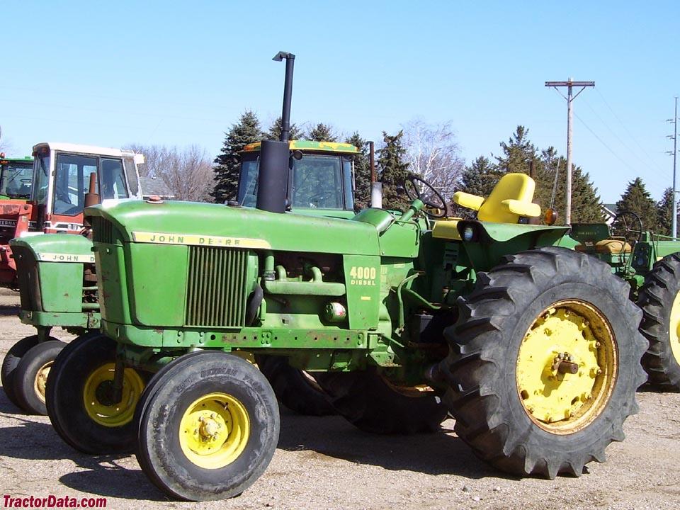 john deere 4060 series tractors