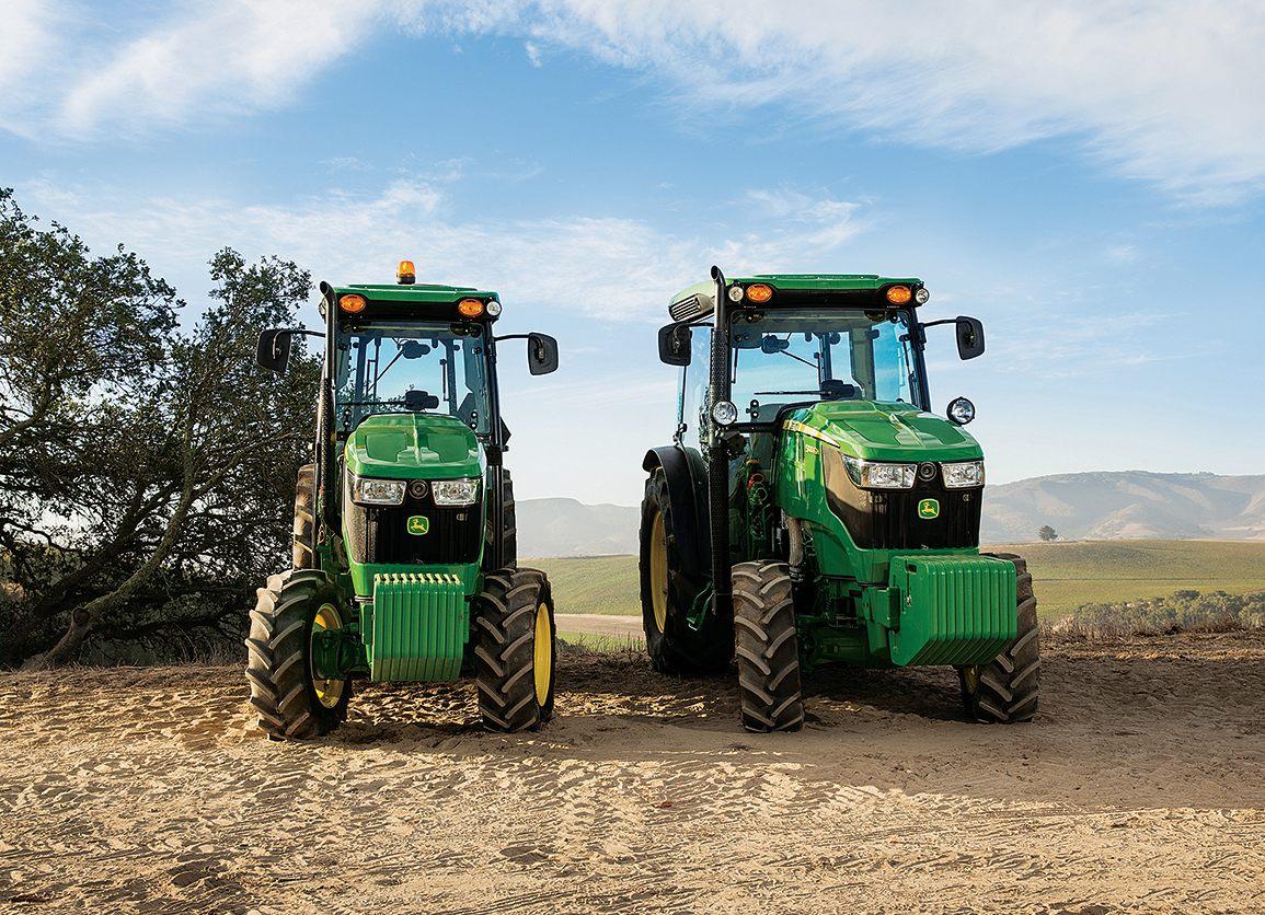 john deere 5g series tractors