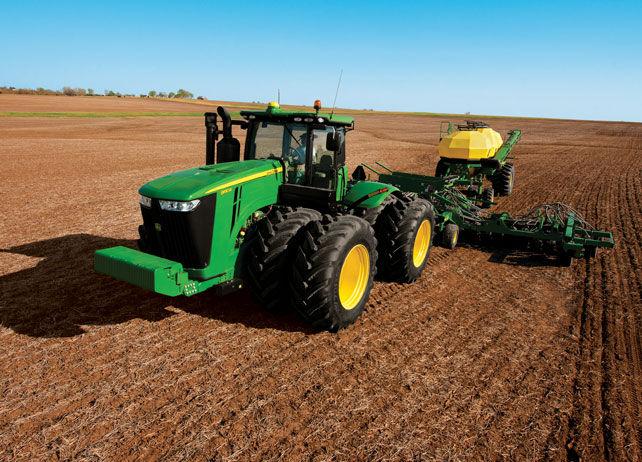 John Deere 9510R Tractor 9R/9RT Series Four Wheel Drive ...