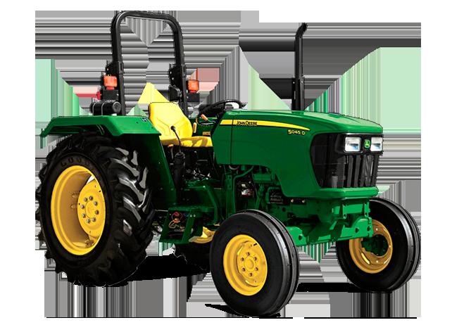 John Deere 5055D Utility Tractor 5D Series Utility ...