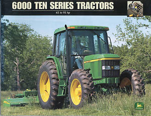 john deere 6000 ten series tractors