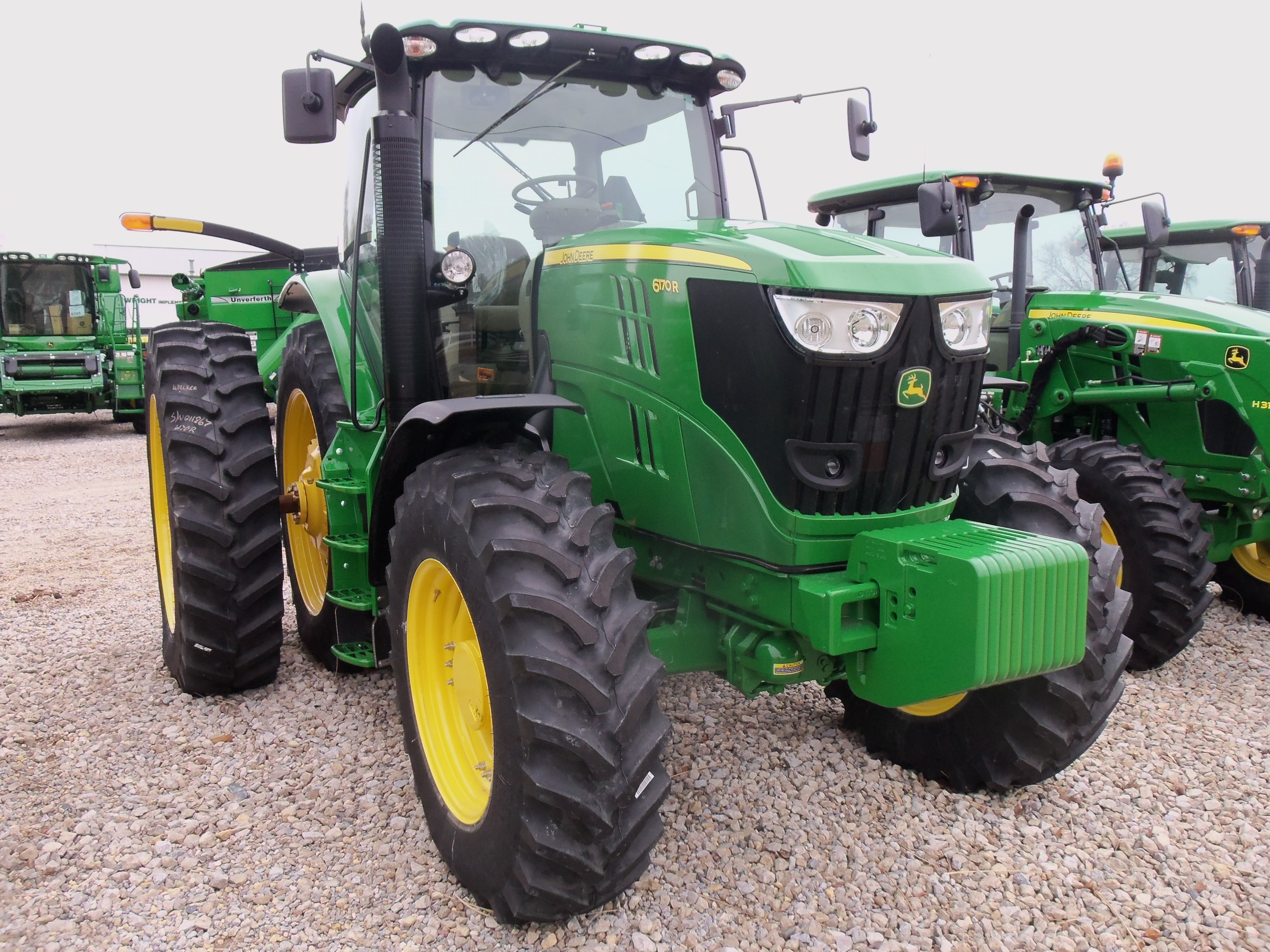 john deere 6r series tractors