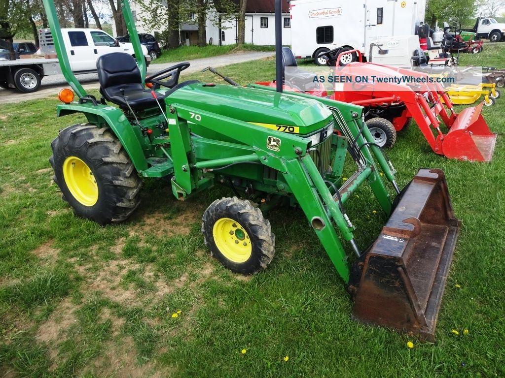 john deere 70 compact series tractors