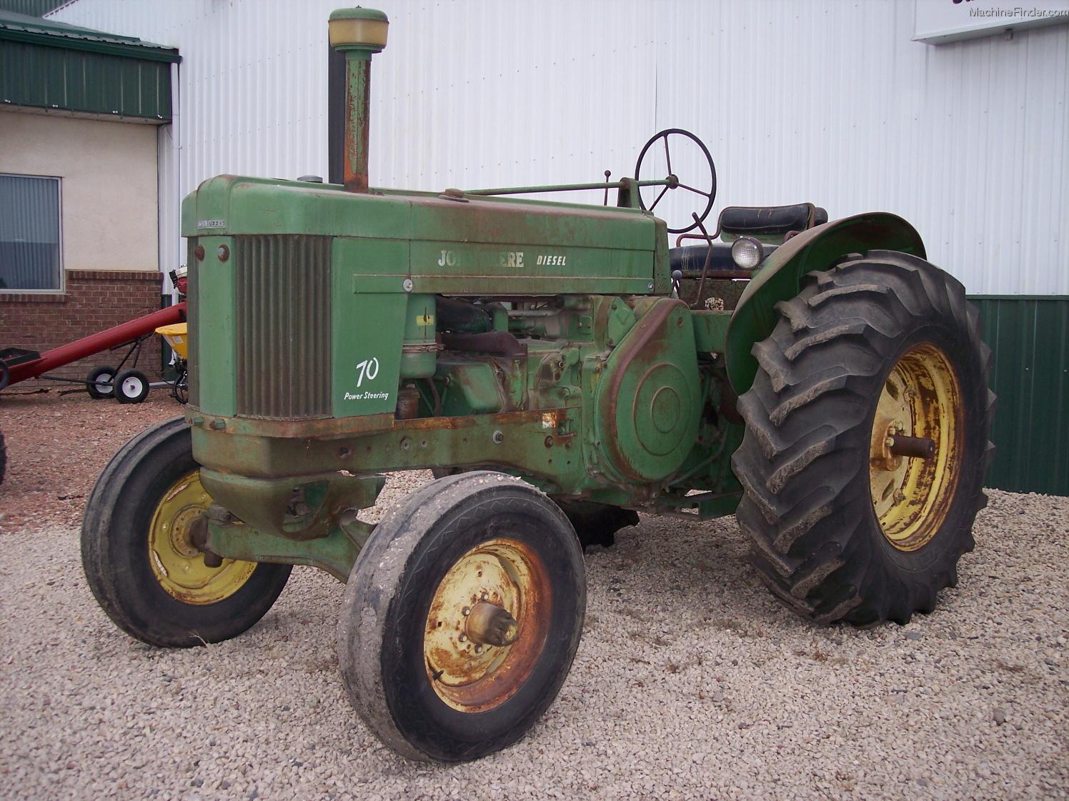 1955 John Deere 70 Tractors - Compact (1-40hp.) - John ...