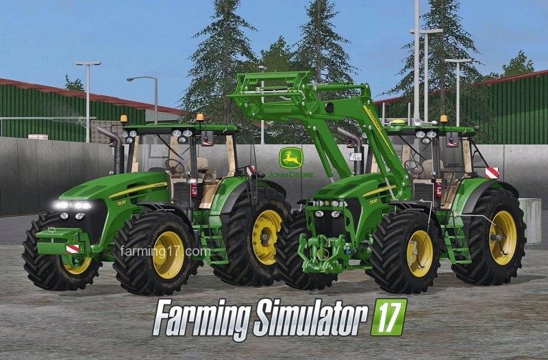 john deere 7025 series tractors
