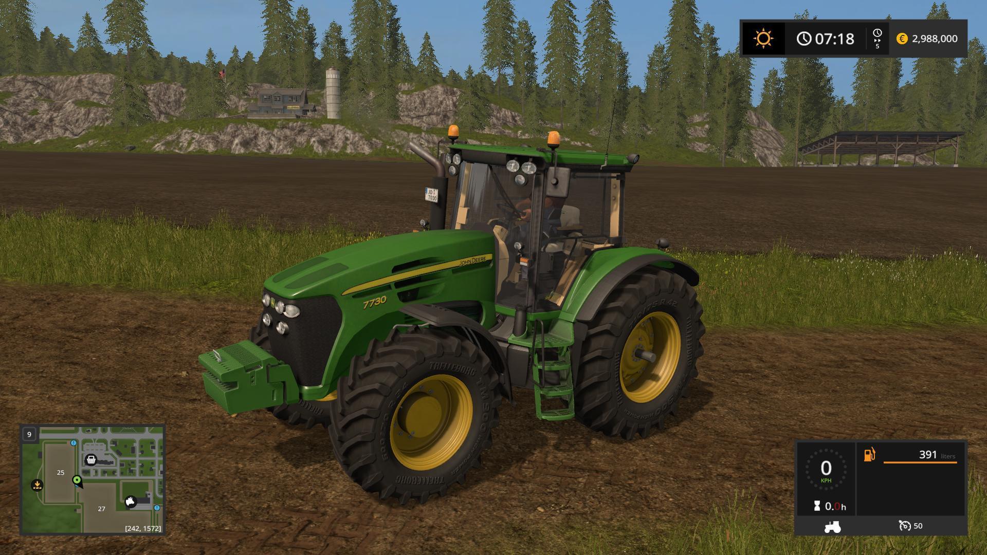 john deere 7030 series tractors