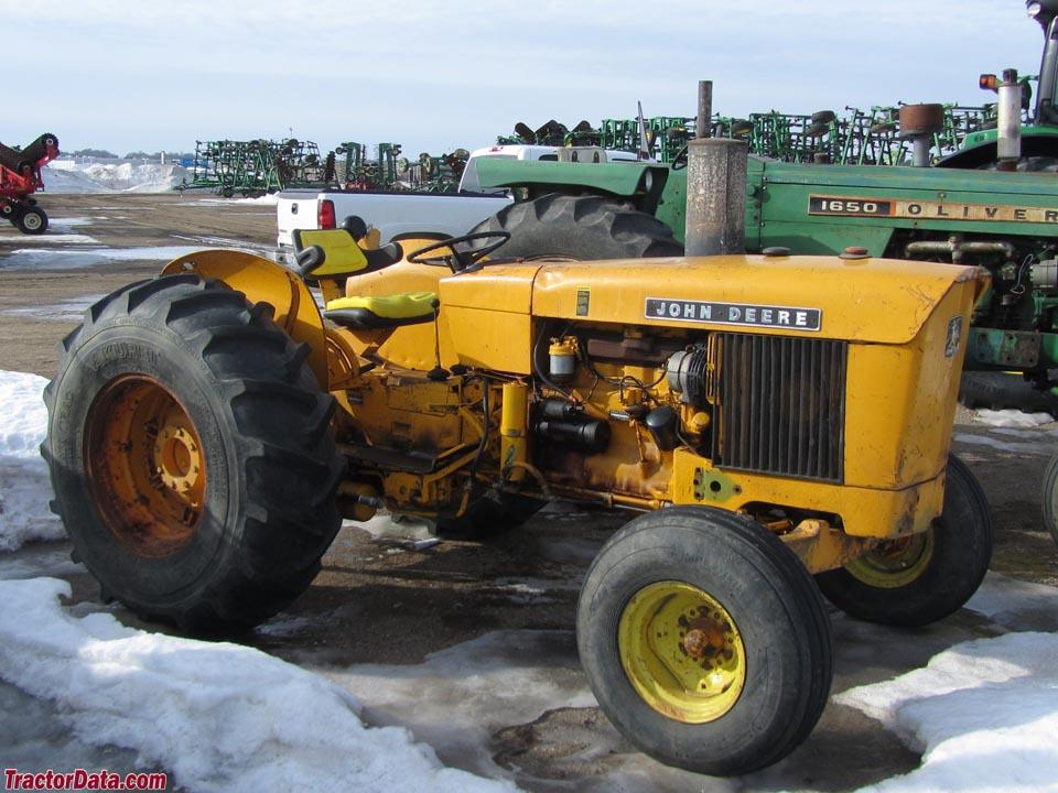john deere industrial tractors