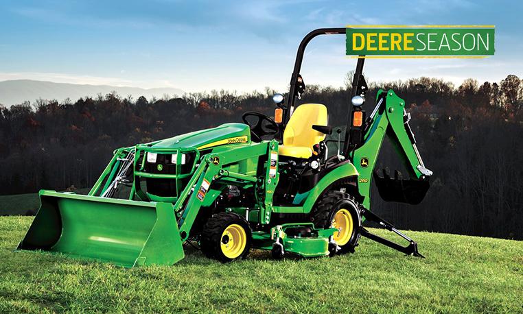 john deere 1 family sub-compact tractors