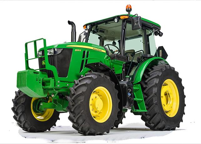 john deere 6e series utility tractors