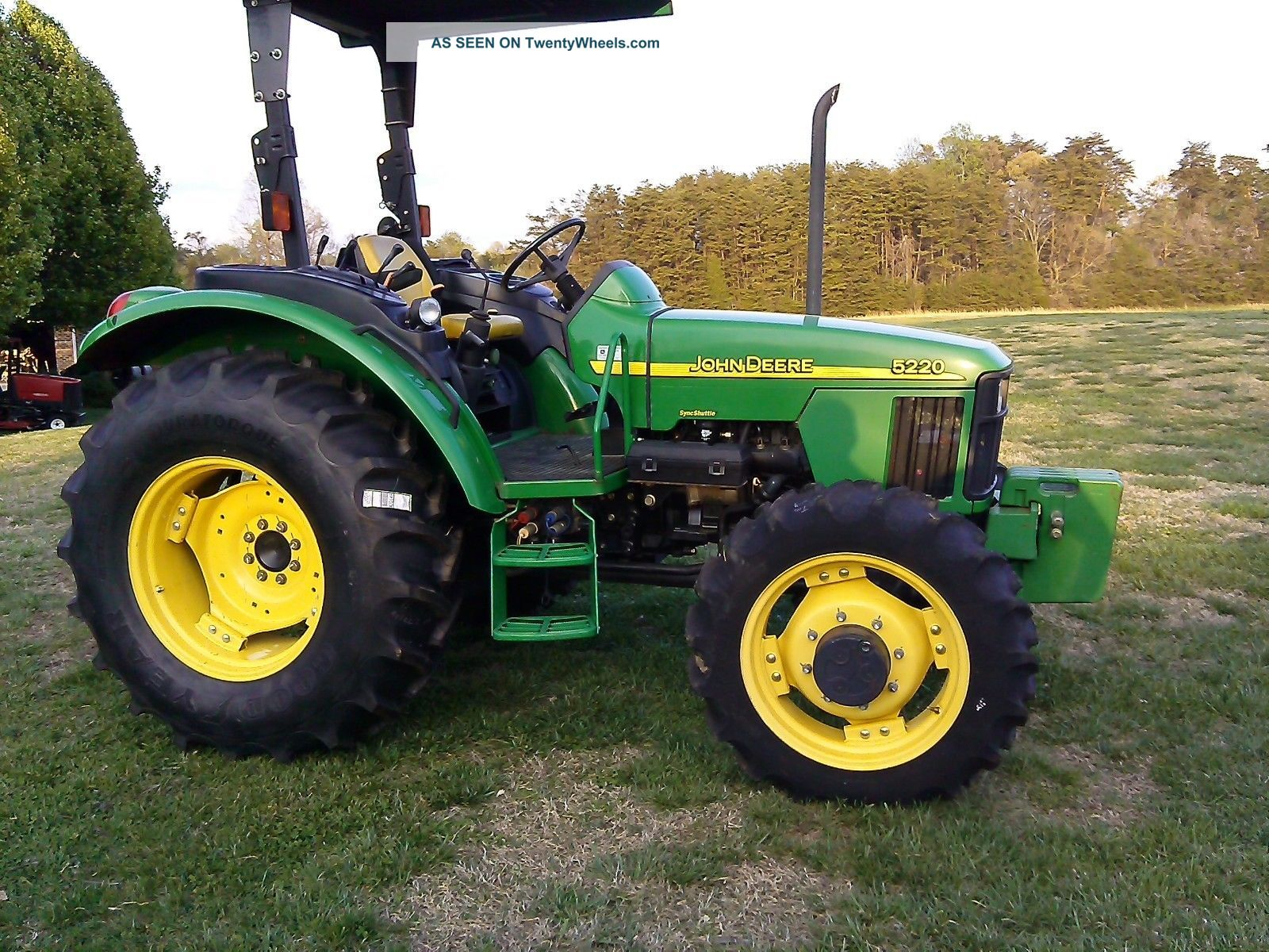 John Deere 5220 Tractor – John Deere 5220 Wiring Diagrams