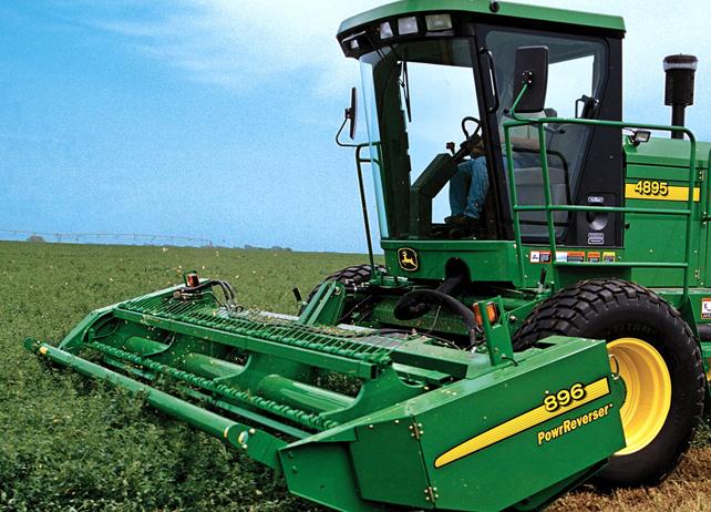 John Deere Windrowers | John Deere Hay & Forage Equipment: John