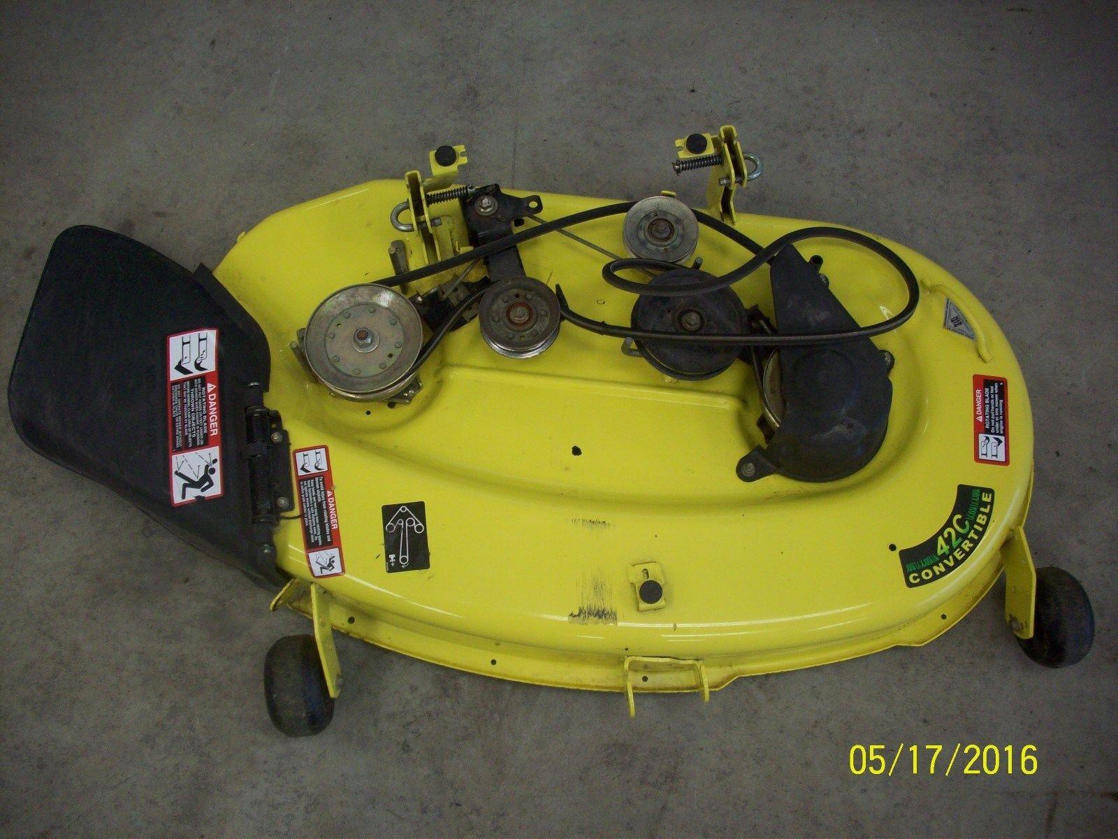 John Deere Lt160 42c Lawn Tractor Lt Series La110 Wiring Diagram Tractors Parts Manuals