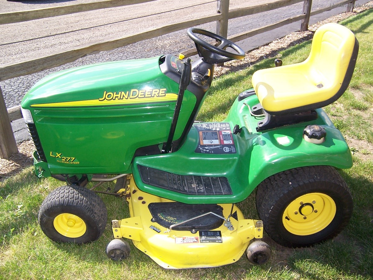 John Deere Lx277 Lawn Tractor Lx Series Tractors Wiring Diagram 2002 Garden And Commercial Mowing