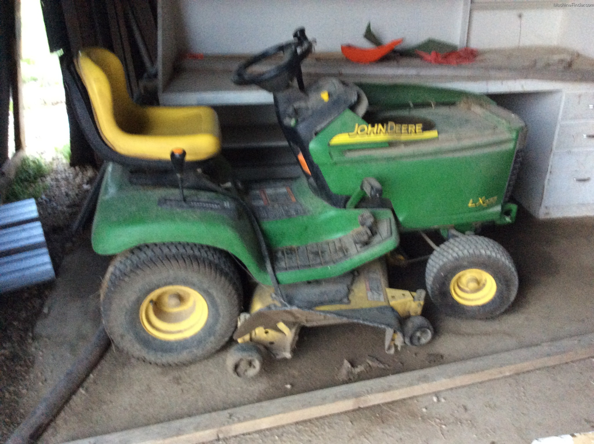 John Deere Lx277 Lawn Tractor Lx Series Tractors Wiring Diagram 2003 Garden And Commercial Mowing