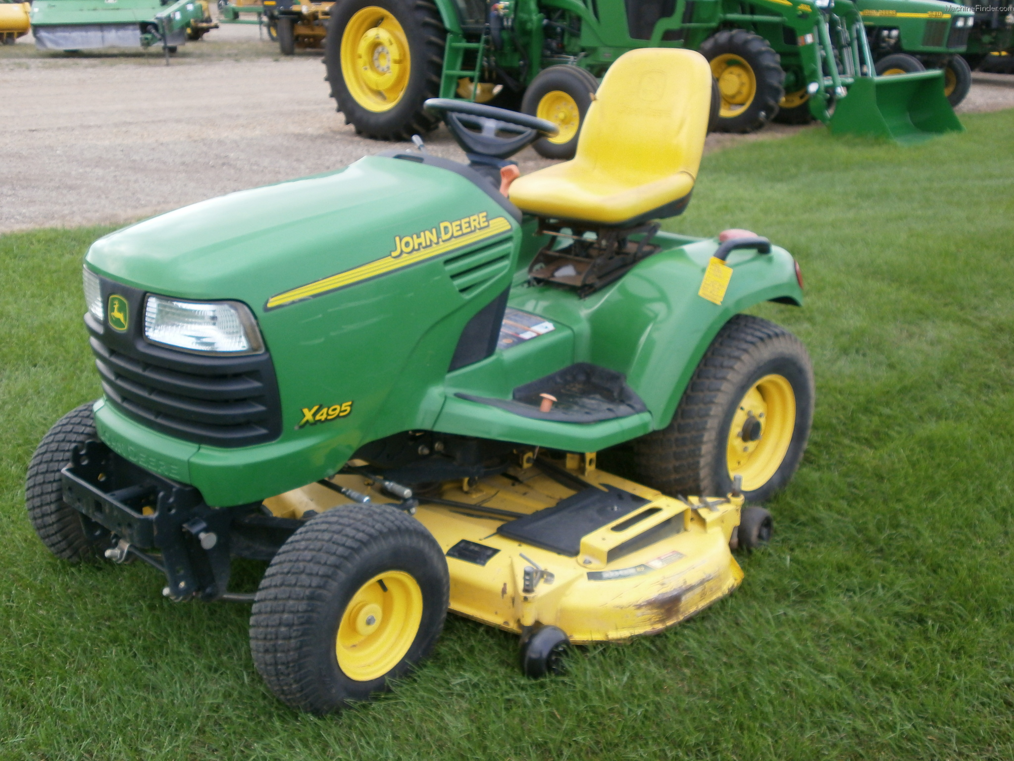 John Deere X495 Aws Garden Tractor X Series Lawn Wiring Diagram 2005 And Commercial Mowing