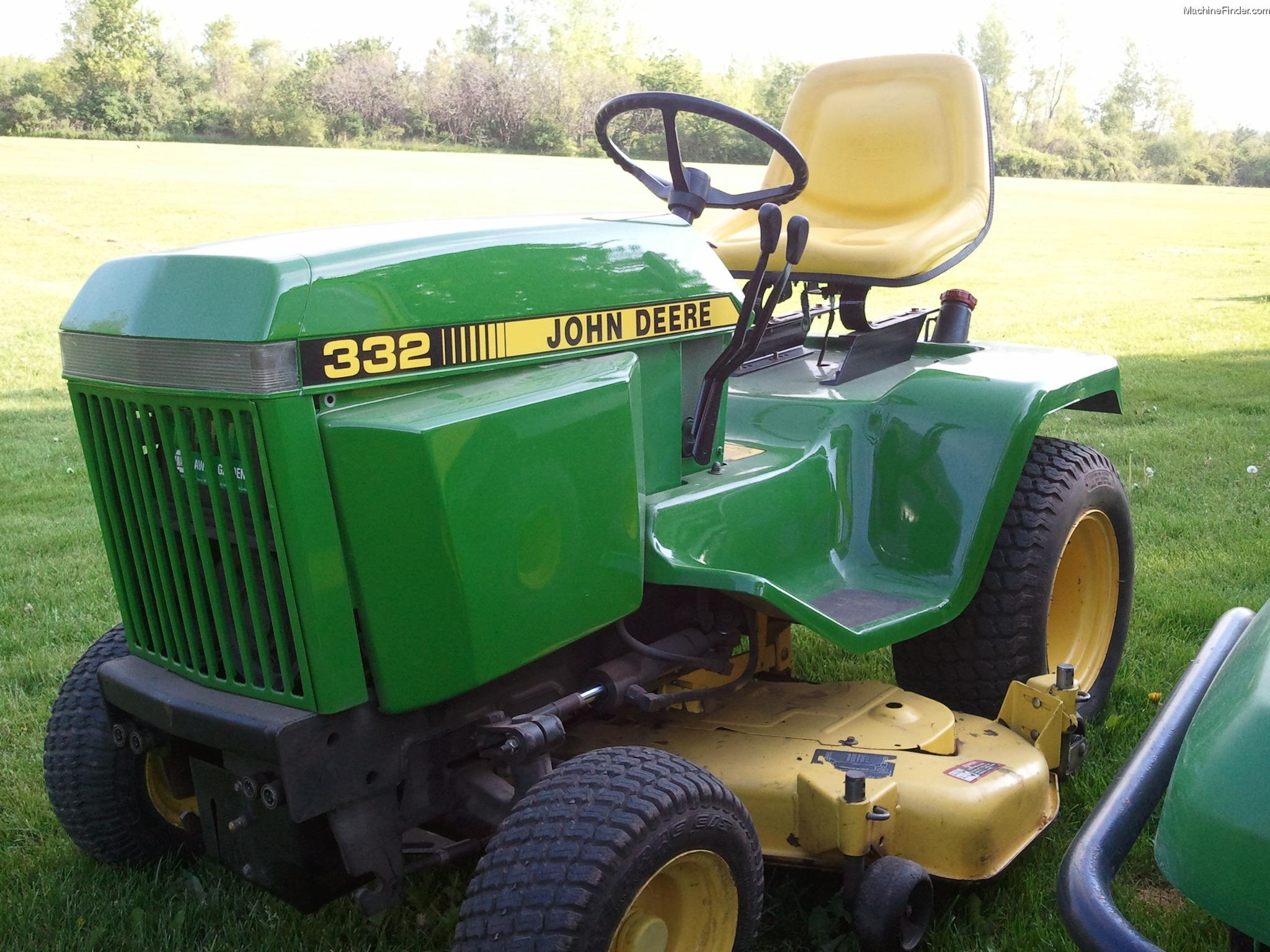 john deere 332 garden tractor john deere 300 series garden