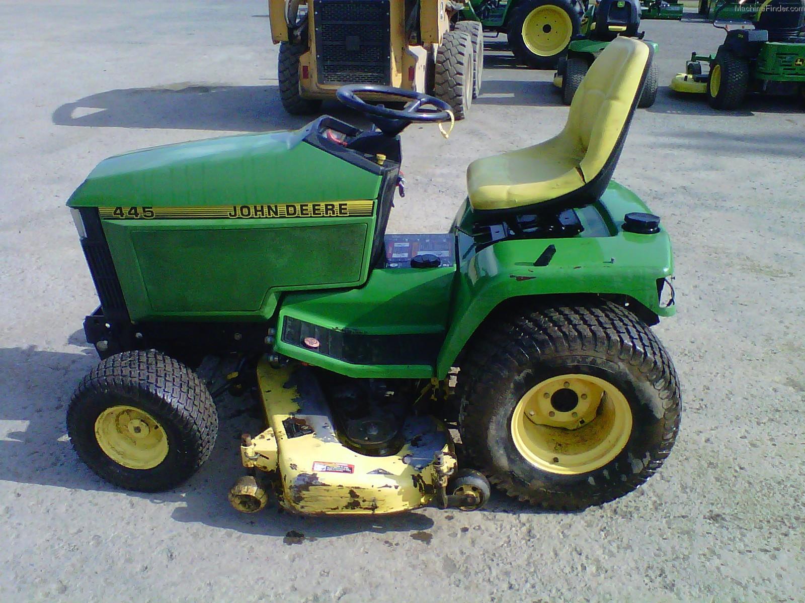 john deere 445 garden tractor john deere 400 series garden