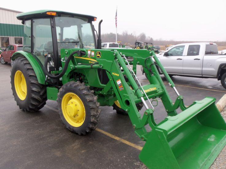 John Deere 5065e   John Deere 5e Series Utility Tractors