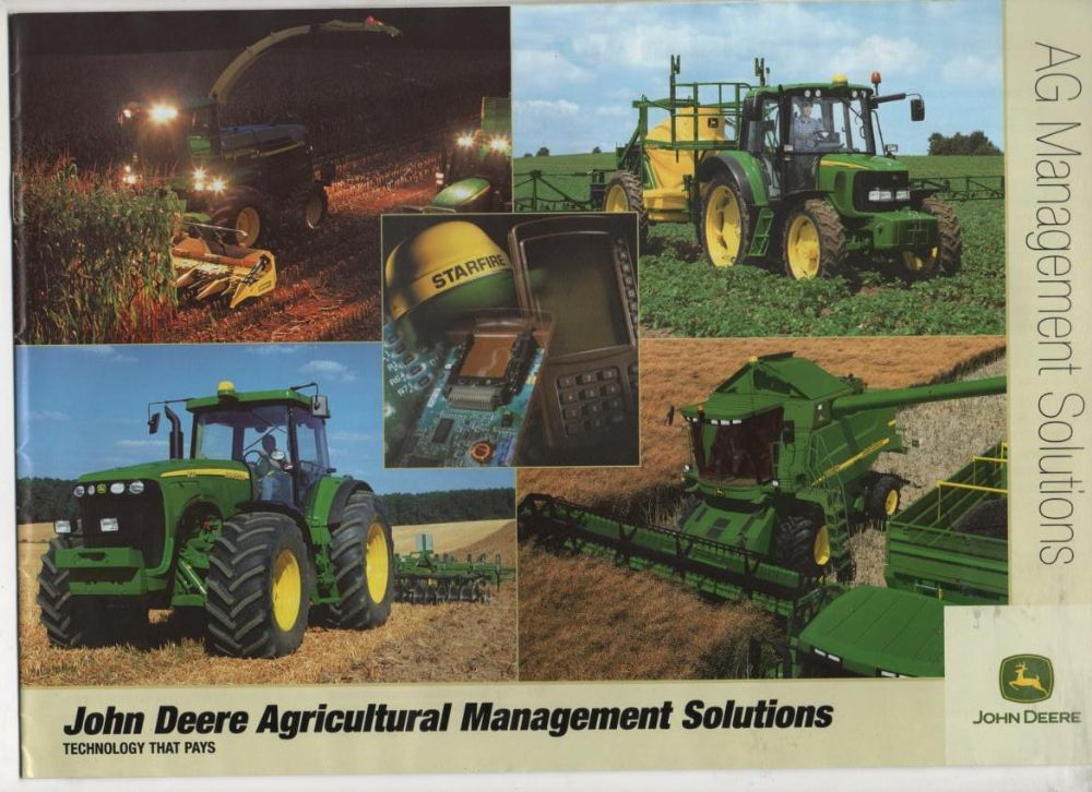 John Deere Ag Management Solutions - Technology that pays Brochure