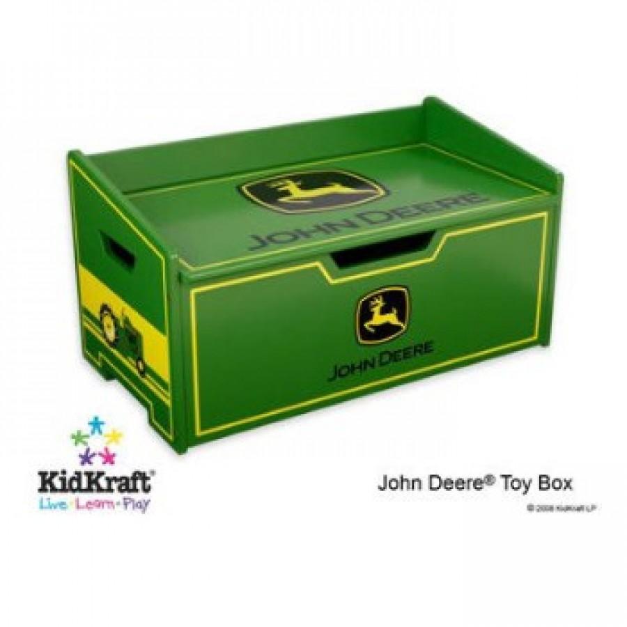 john deere toy box bench