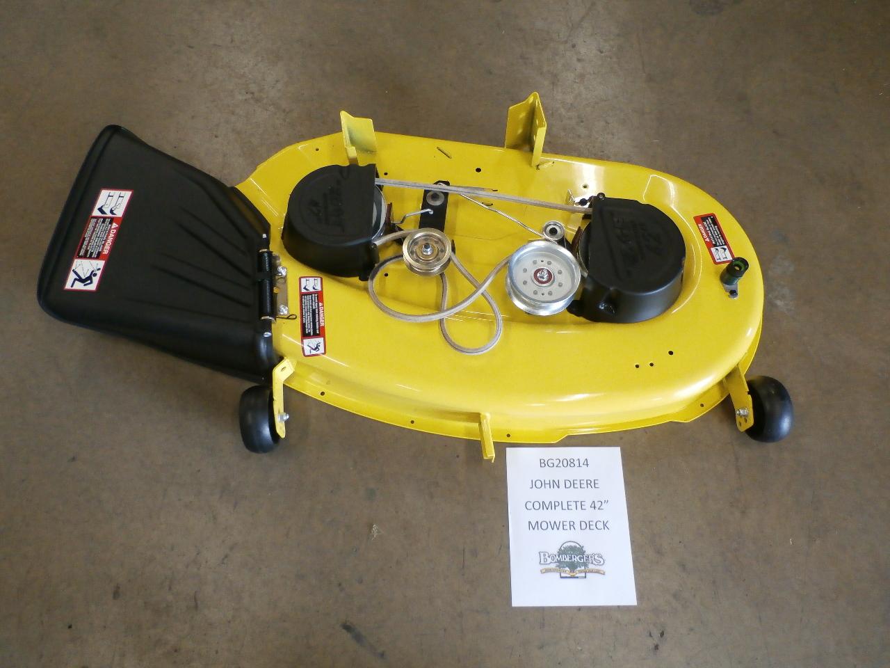 John Deere 115 Mower Belt Belts Www La125 Wiring Diagram 42 Deck Complete Bg20936 Bg20814