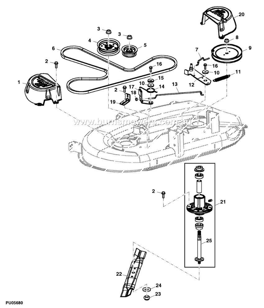 john deere la130 parts manual pdf