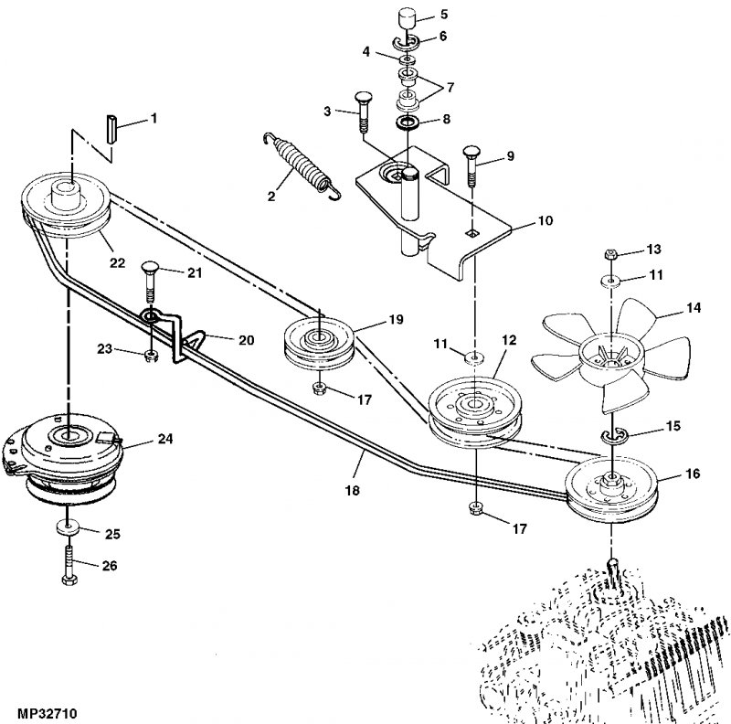 Diagram Install Belt John Deere 54 Deck Mower 352015 besides Engine Repair Car Repair 385972630537704901 moreover John Deere Lt155 110584 additionally John Deere 48 Inch Mower Deck Housing AM140588 likewise Drive Belt Replacement Scotts 2046h 368359. on john deere l130 belts