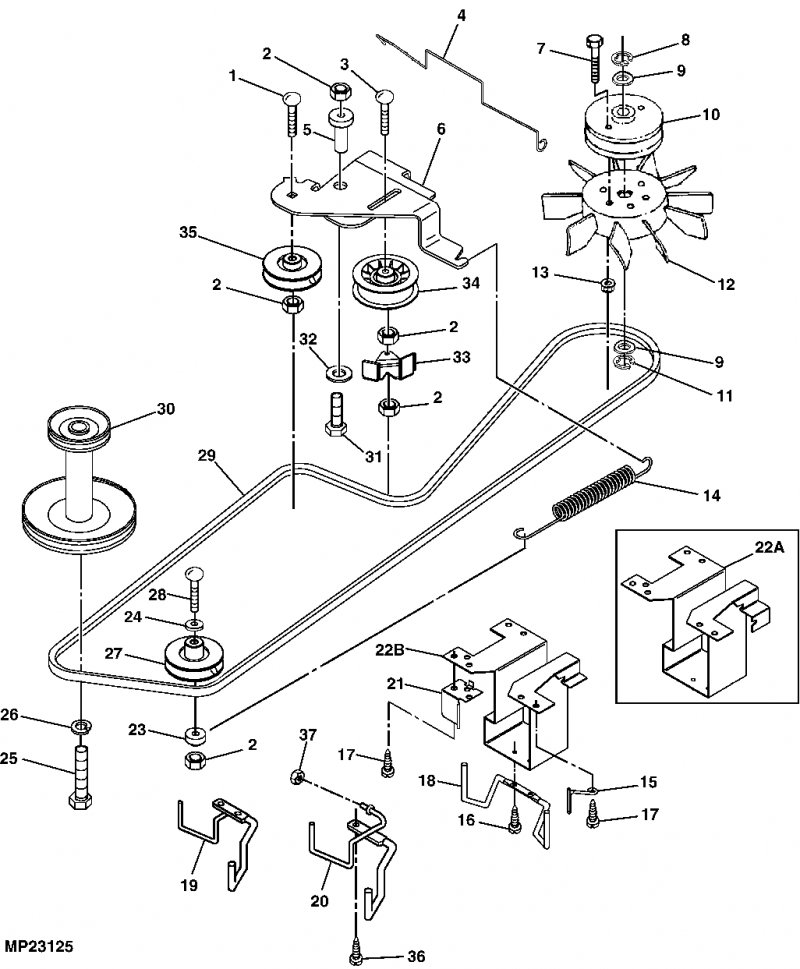 Awesome John Deere 14sb Parts Diagram Contemporary - Best Image ...