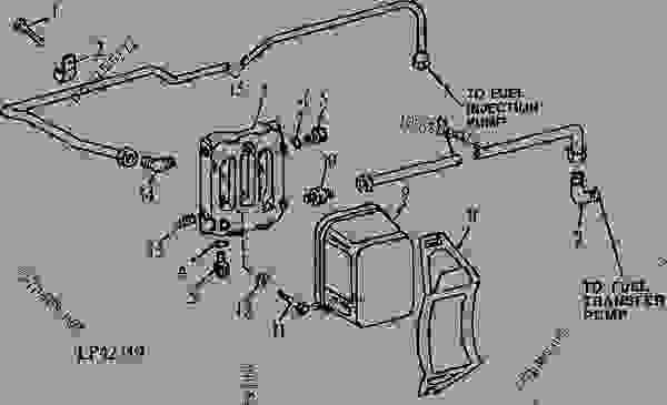 New John Deere Tractor Fuel Injectors Parts Inc: John Deere 310 Wiring Diagram At Shintaries.co