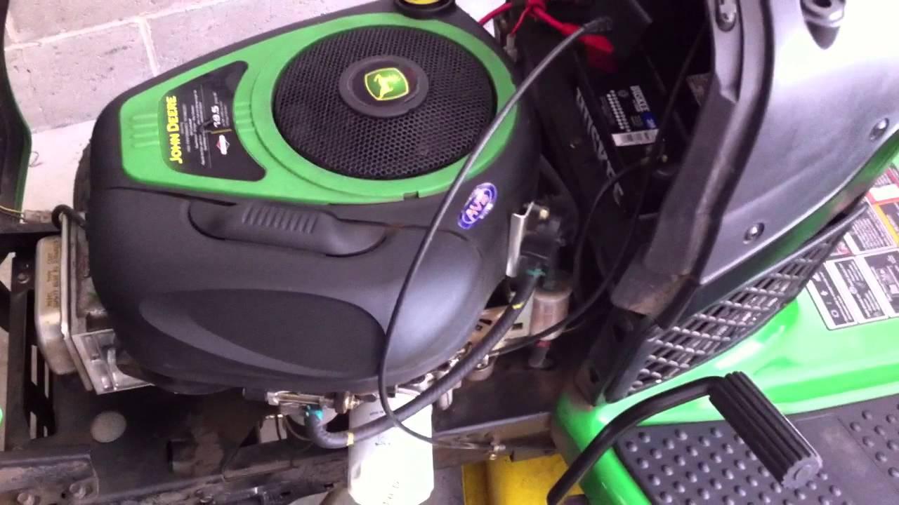 John Deere D110 Fuel Tank System Lawn Tractor Engine Diagram Repair Riding Mower Replacement