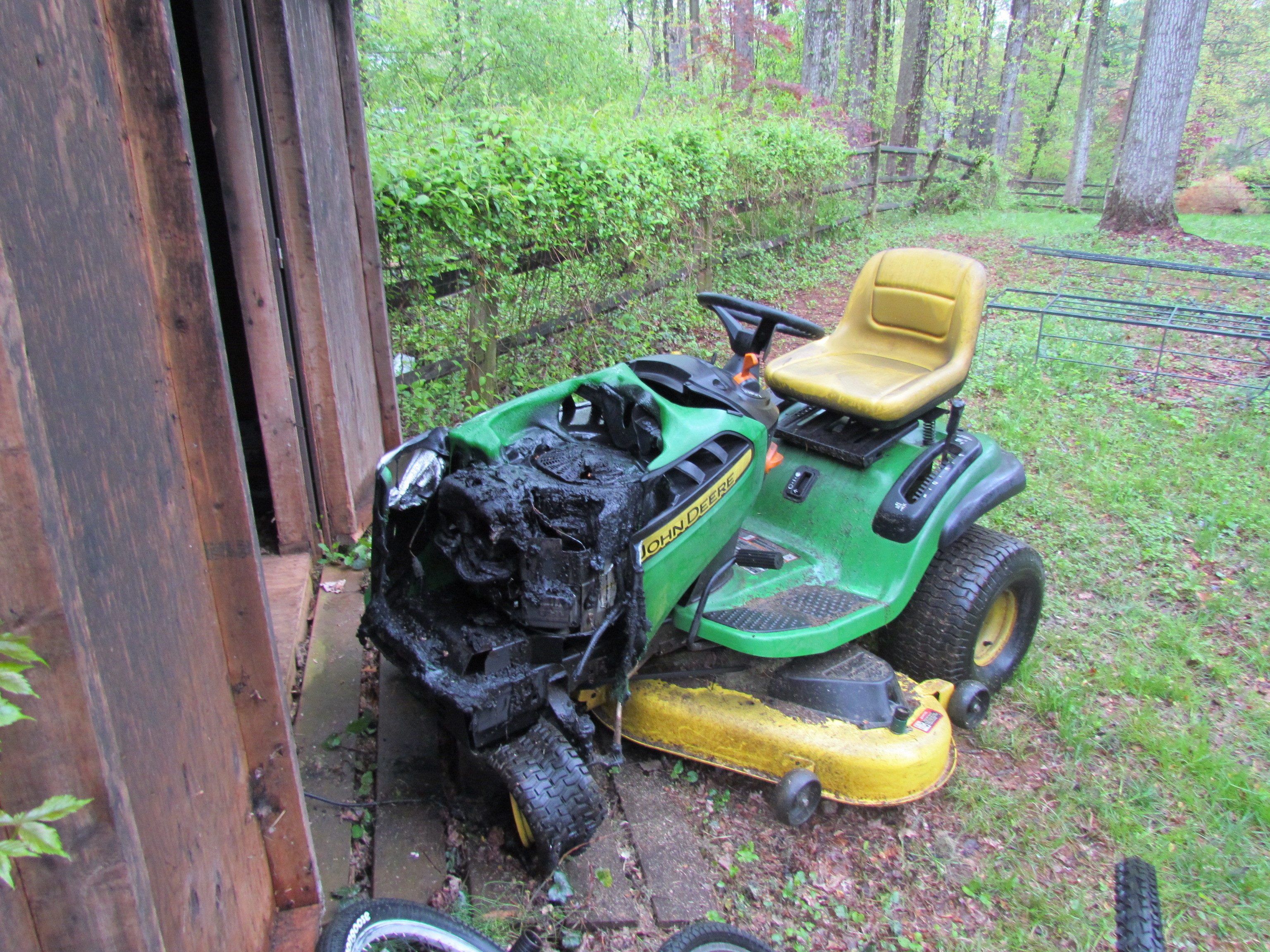 Riding Lawn Mower Oil Change Instructions - YouTube