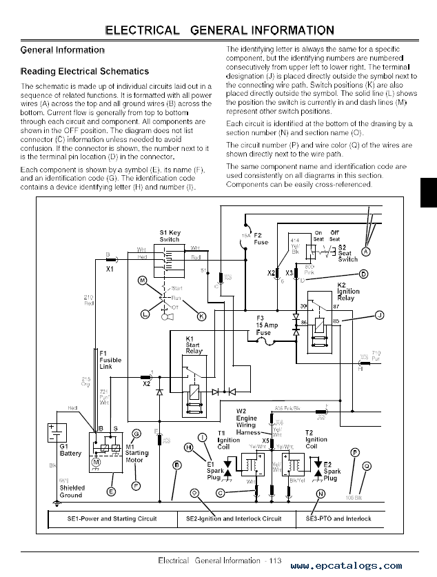 John Deere 100 Series Manual